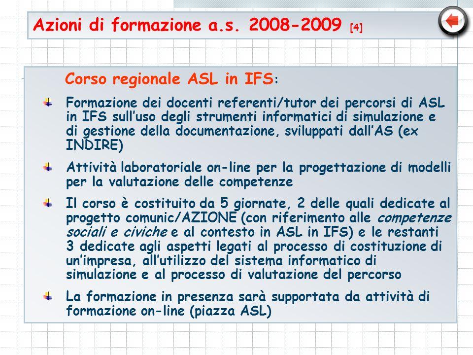 Azioni di formazione a.s. 2008-2009 [4]